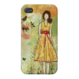A Little Birdie iPhone 4 Case by Janelle Nichol