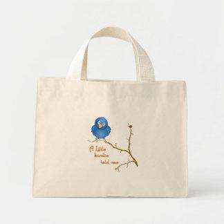 A Little Birdie Momism Tote Bag