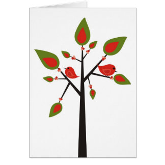A Little Birdie Told Me Stationery Note Card