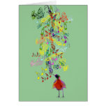A Little Birdie Told Me So Greeting Card