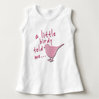 A Little Birdy Told Me Baby Sleeveless Dress