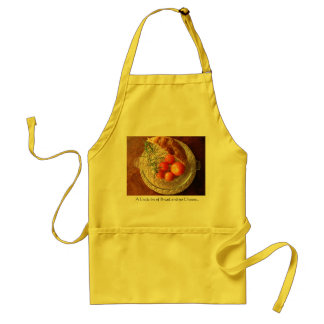 A Little Bit of Bread and no Cheeese.. Adult Apron