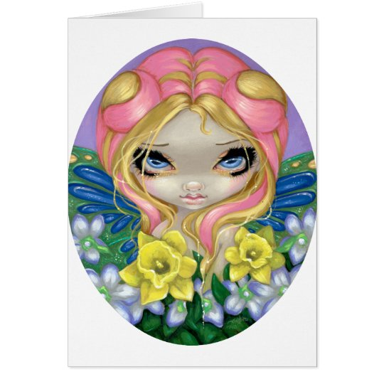 """""""A Little Bit of Spring"""" Greeting Card"""