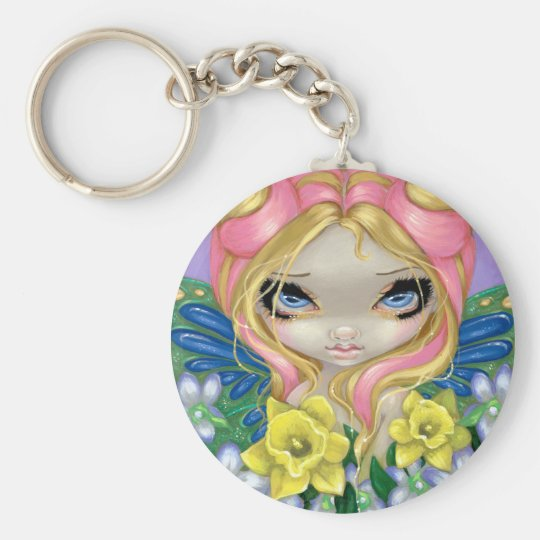 """A Little Bit of Spring"" Keychain"