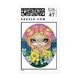 """A Little Bit of Spring"" Stamp"