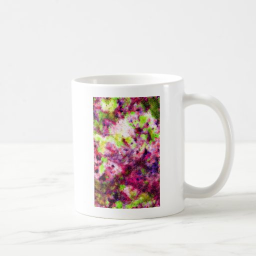 A Little Bit Pink, An Abstract Classic White Coffee Mug