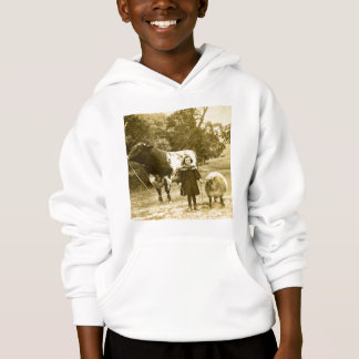 A Little Child Shall Lead Them Hoodie