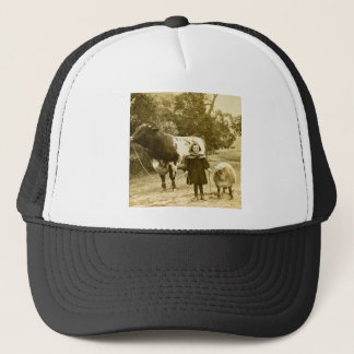A Little Child Shall Lead Them Trucker Hat