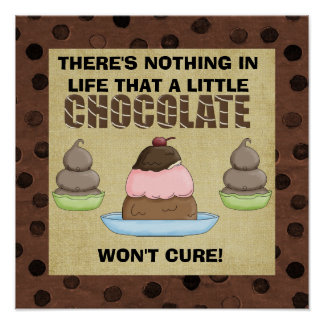 A Little Chocolate Poster