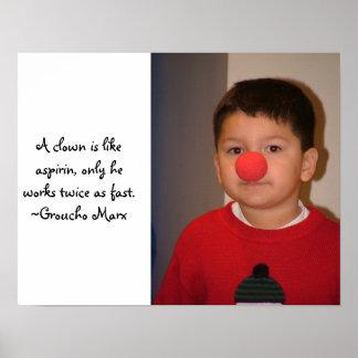 A Little Clown Poster