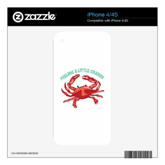 A Little Crabby Skins For iPhone 4S