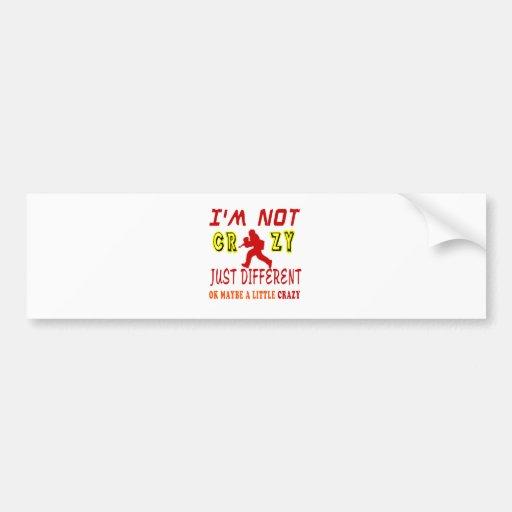 A Little Crazy for Paintball Bumper Sticker