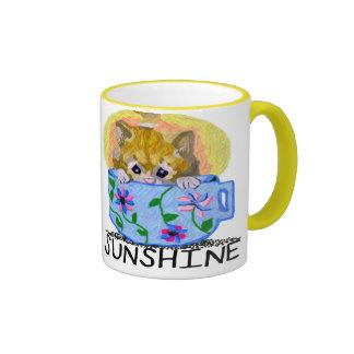 A Little Cup Of Sunshine-Mug Ringer Coffee Mug