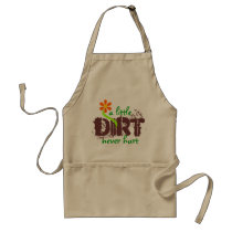 A little DIRT Adult Apron