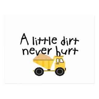 A Little Dirt Never Hurt Postcards