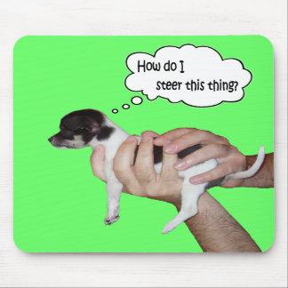 A (little) dog's life -- mousepad