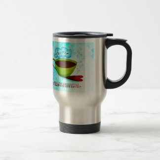A little Dream in your Coffee Stainless Steel Travel Mug