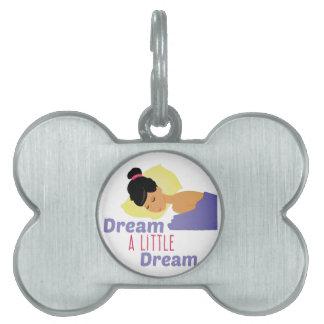 A Little Dream Pet ID Tag