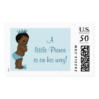 A Little Ethnic Prince is on His Way Vintage Baby Postage