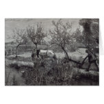 A little farm well tilled', Picardy Greeting Cards