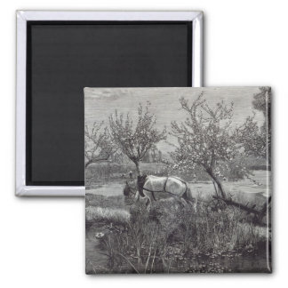 A little farm well tilled', Picardy Magnet