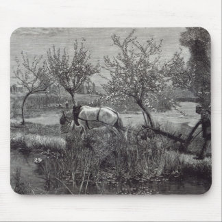 A little farm well tilled', Picardy Mouse Pad