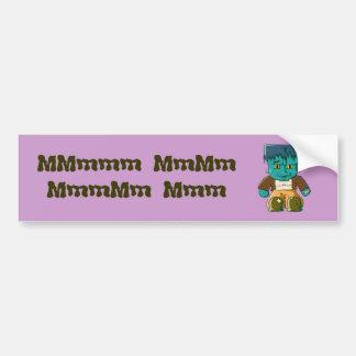 A Little Frankenstein Monster Bumper Sticker
