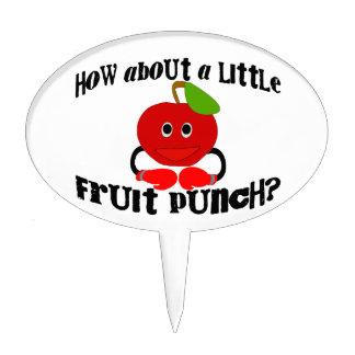 A Little Fruit Punch Cake Topper