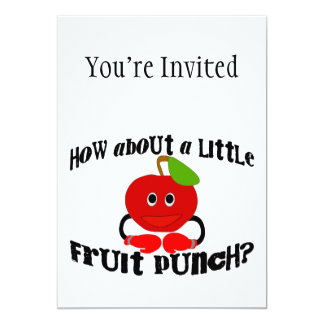 A Little Fruit Punch Custom Invite