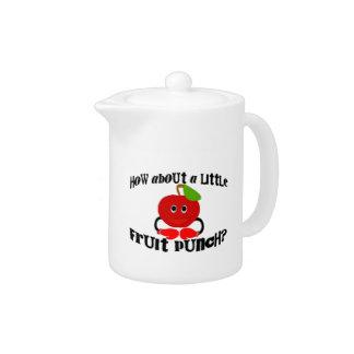 A Little Fruit Punch Teapot