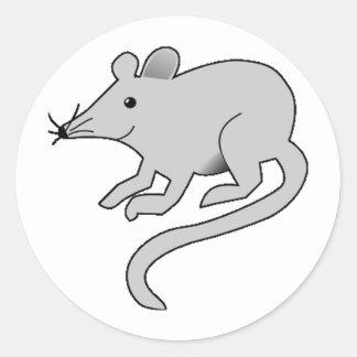 A Little Gray Mouse Sticker