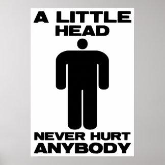 A Little Head Poster