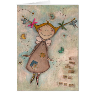 A Little Help - Greeting CArd