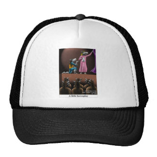 A Little Horse Play Funny Horse Cartoon Gifts Trucker Hat