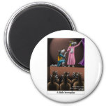 A Little Horse Play Funny Horse Cartoon Gifts Magnets
