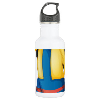 A little lady crying 18oz water bottle