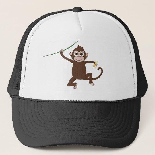 A Little monkey for your little monkey Trucker Hat