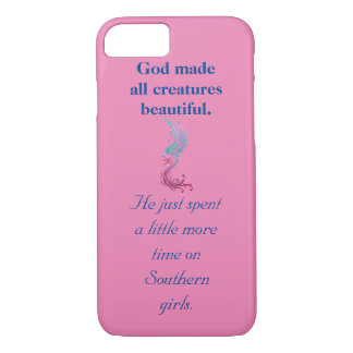 A Little More Time on Southern Girls iPhone Case