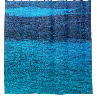 A Little Ocean Shower Curtain