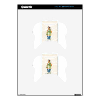 A Little Outkast Chinese Boy Xbox 360 Controller Skins