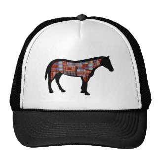 A LITTLE PLAID TRUCKER HAT