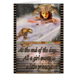 A Little Privacy Customizable Greeting Card
