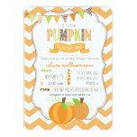 A Little Pumpkin Baby Shower Invitation