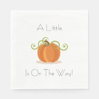 A Little Pumpkin Napkins