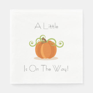 A Little Pumpkin Napkins Standard Luncheon Napkin