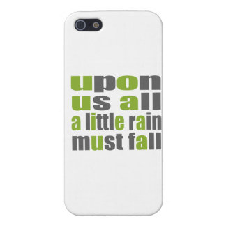 A Little Rain Must Fall Cover For iPhone SE/5/5s