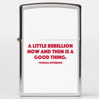 A Little Rebellion Zippo Lighter