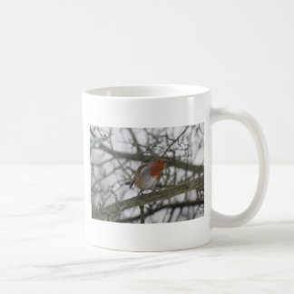 A little red Robin in the tree Coffee Mug