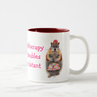 A Little Retail Therapy Two-Tone Coffee Mug