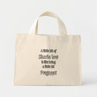 A little Sharia Law... Mini Tote Bag